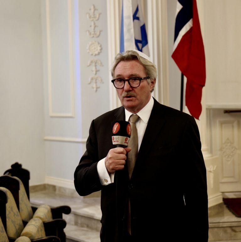 Jon Hanssen-Bauer, Ambassadeur de Norvège